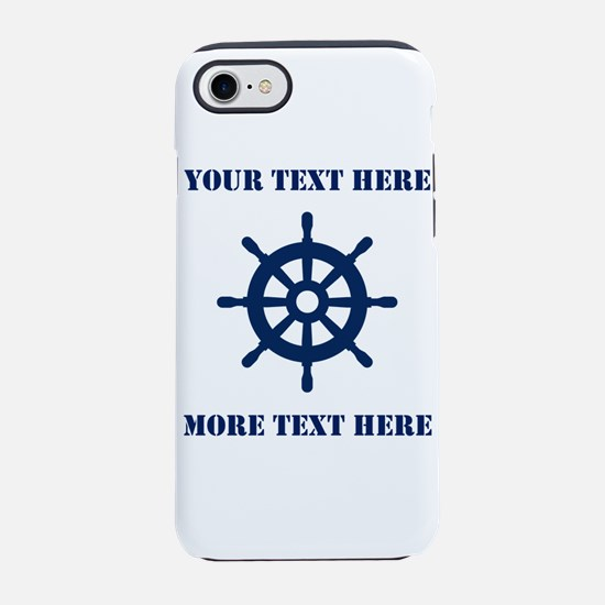Custom Nautical Sailing Theme Iphone 7 Tough Case