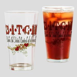 BITCH Pint Glass