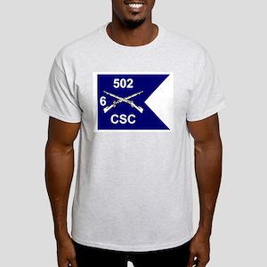 CSC 6/502nd Ash Grey T-Shirt