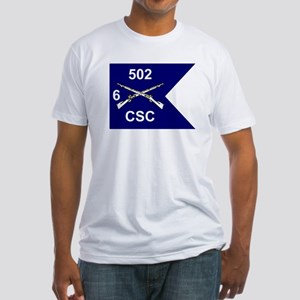 CSC 6/502nd Fitted T-Shirt