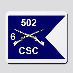 CSC 6/502nd Mousepad