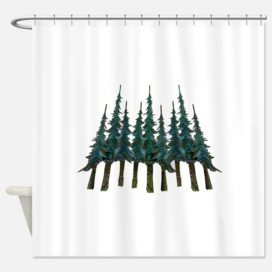 THE MIGHTY ONES Shower Curtain