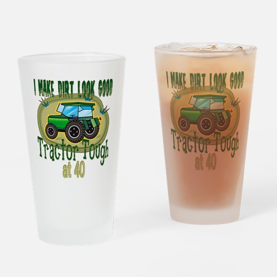 Tractor Tough 40th Pint Glass