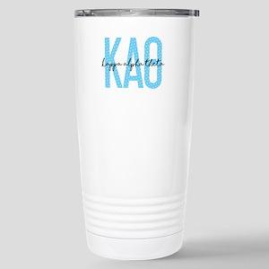 Kappa Alpha Theta 16 oz Stainless Steel Travel Mug