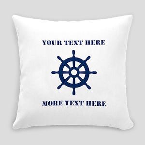 Custom Nautical Everyday Pillow Home Decor