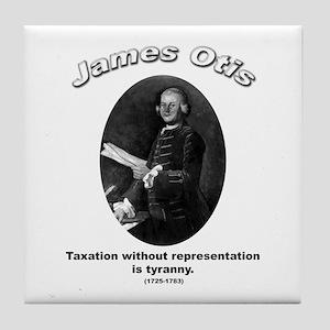 James Otis 02 Tile Coaster