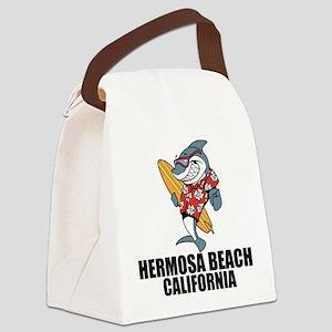 Hermosa Beach, California Canvas Lunch Bag