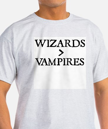 Wizards Are Greater Than Vampires T-Shirt