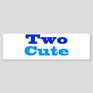 Two Cute Sticker (Bumper)