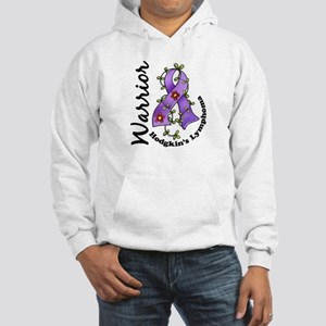 Hodgkin's Lymphoma Warrior Hooded Sweatshirt