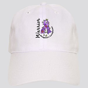 Hodgkin's Lymphoma Warrior Cap