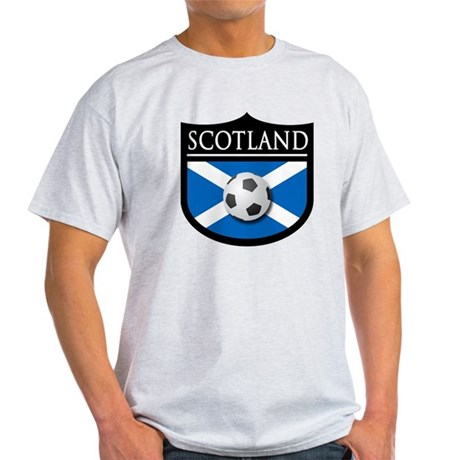 Scotland Soccer Patch Light T-Shirt