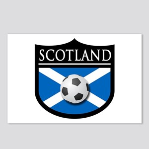 Scotland Soccer Patch Postcards (Package of 8)