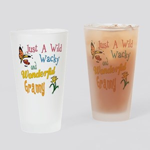 Wild Wacky Granny Pint Glass