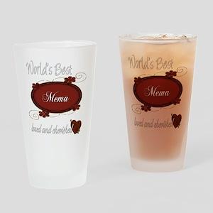 Cherished Mema Pint Glass