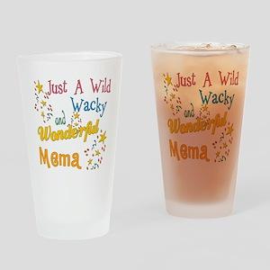 Wild Wacky Mema Pint Glass