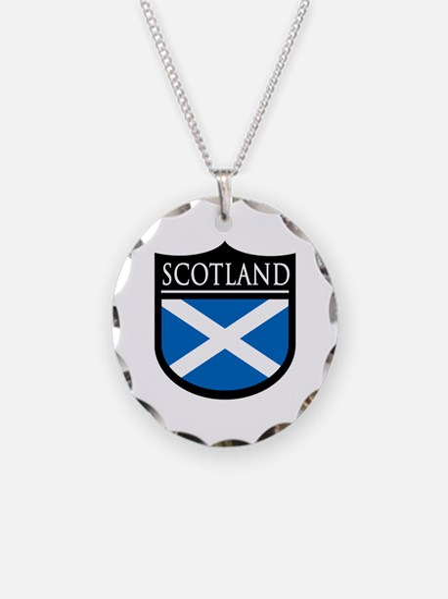 Scotland Flag Patch Necklace
