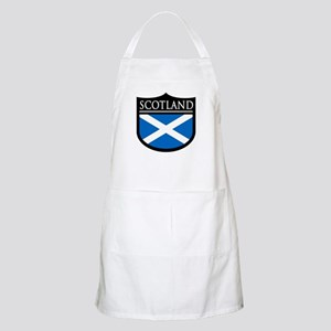 Scotland Flag Patch Apron