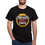 Arthur Loves Plastic Dark T-Shirt