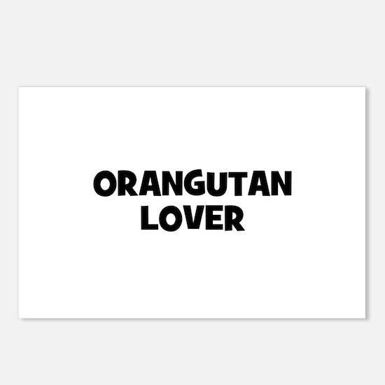 Orangutan Lover Postcards (Package of 8)