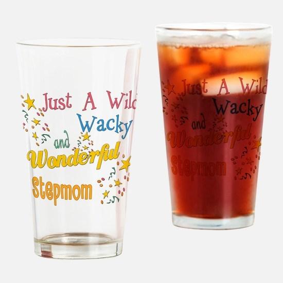 Wild Wacky Step Mom Pint Glass