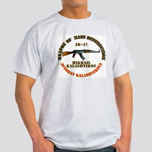 Weapon of Mass Destruction - AK47 Light T-Shirt