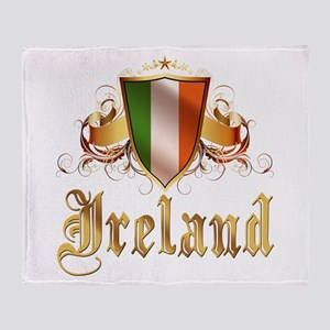 Irish pride Throw Blanket