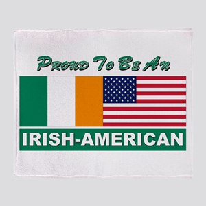 Proud irish Throw Blanket