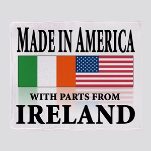Irish American pride Throw Blanket