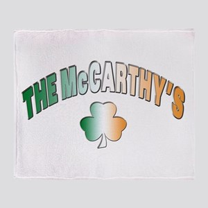 The McCarthy family Throw Blanket