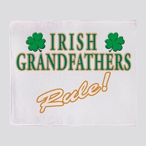 Irish Grandfathers rule Throw Blanket