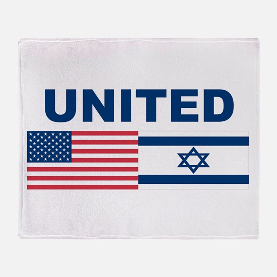 Support Isreal Throw Blanket