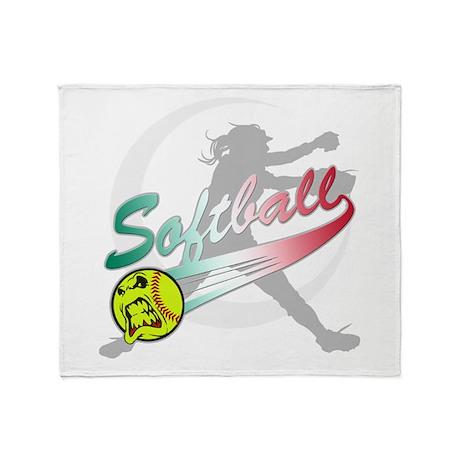 how to teach a girl to throw a softball