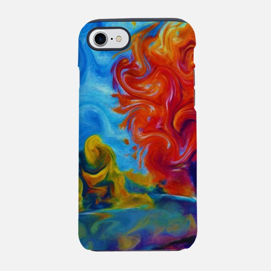 Abstract Landscape Art Paintin iPhone 7 Tough Case