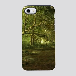 Fantasy Forest Painting Green iPhone 7 Tough Case