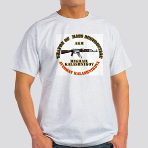 Weapon of Mass Destruction - AKM Light T-Shirt