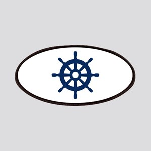 Custom nautical ship wheel Patch