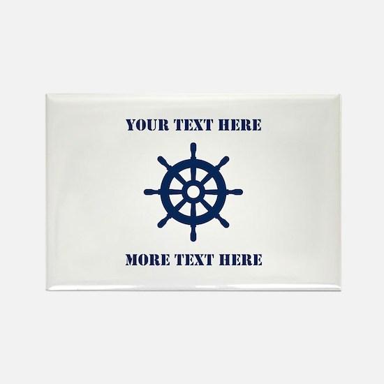Custom Maritime Theme Magnets For Sailing Fan