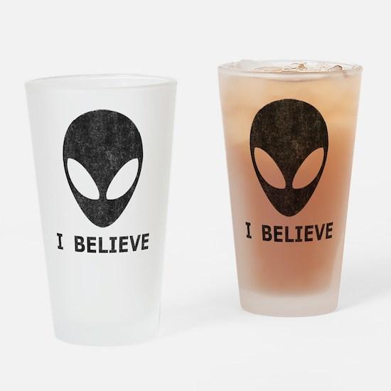 Vintage Alien (I Believe) Pint Glass