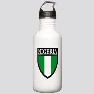 Nigeria Flag Patch Stainless Water Bottle 1.0L