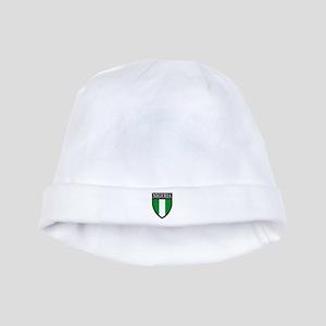 Nigeria Flag Patch baby hat