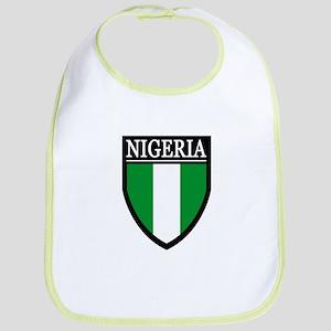 Nigeria Flag Patch Bib