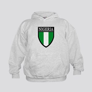 Nigeria Flag Patch Kids Hoodie