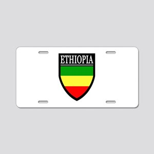 Ethiopia Flag Patch Aluminum License Plate
