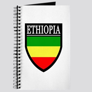 Ethiopia Flag Patch Journal