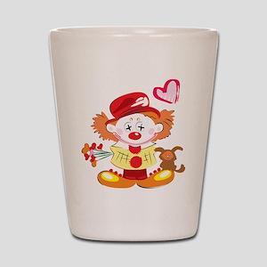 Love Clown Shot Glass