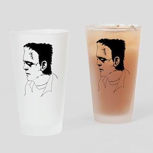 Frankenstein Illustration Pint Glass