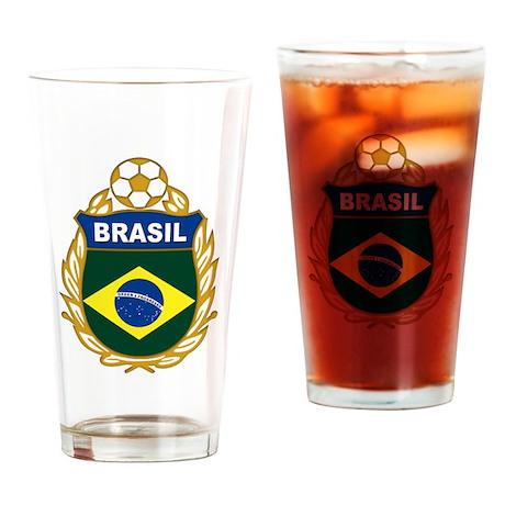 brasil world cup Pint Glass