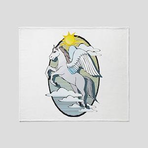 Pegasus Throw Blanket
