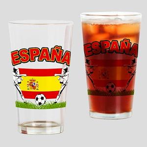 Spainish Soccer Pint Glass
